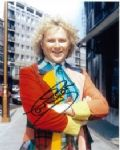 Colin Baker as the Doctor Signed 10 x 8 Photograph #p8